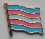 Transgender Pride (pink/blue) Flag Enamel Pin Badge